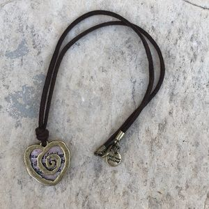 Jewelry - Trust your journey necklace 17""